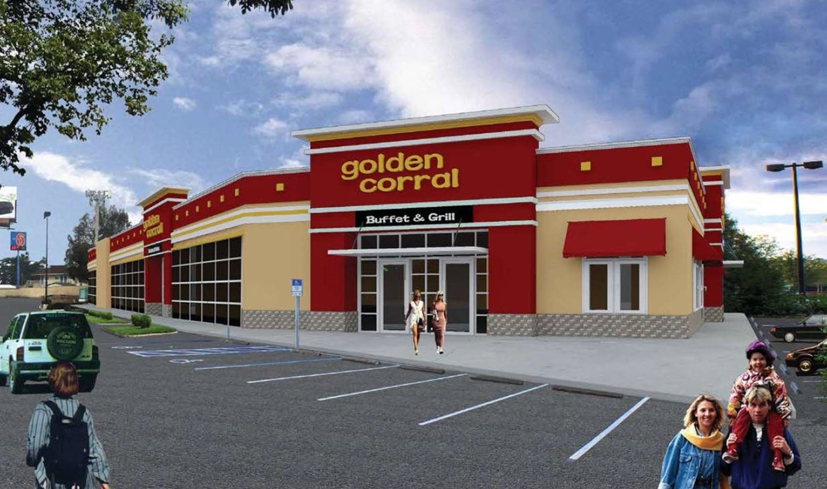 Retail Leasing Southern California Brokerage Golden Corral Inland Empire
