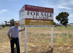 Chris Lindholm shares factors to consider when buying commercial land
